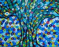 ArtOrna tree of life painting 2