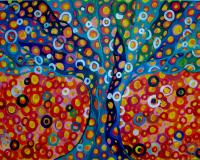 ArtOrna tree of life painting 3