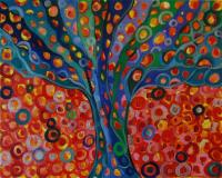ArtOrna tree of life painting 4