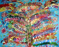 ArtOrna tree of life painting 11