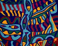 ArtOrna fish painting