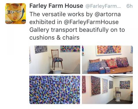 Farley Farm House Art Orna Tweet
