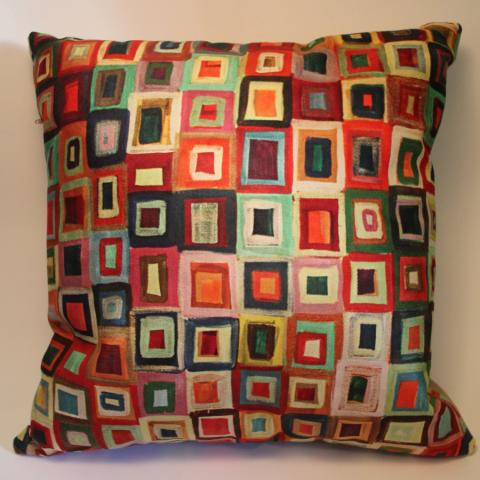Cushion Cover of Orna's Windows painting